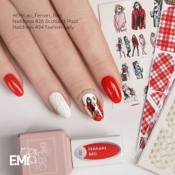 NAILDRESS LADY IN RED